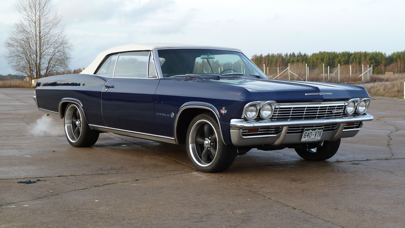 Chevrolet Impala 1965 Cabrio Dark Blue