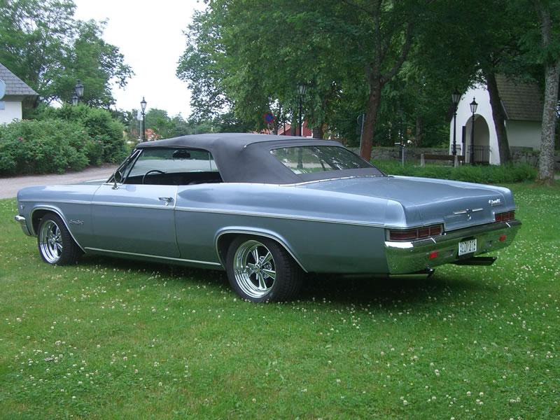 1966 chevrolet impala information: